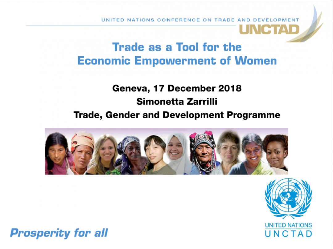 Presentation UNCTAD 2 – MENA programme Final review meeting, Mainstreaming gender competition and consumer protection