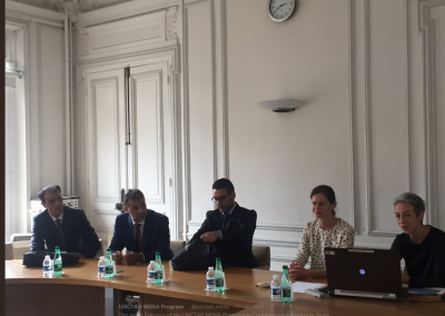 24-26 Octobre 2016, Paris, France: The study visit for countries of the MENA region