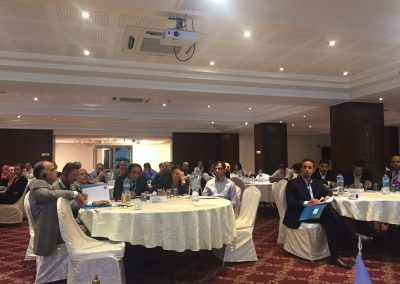 27 September 2016, Ramallah, Palestine, National awareness raising seminar on competition law and policy